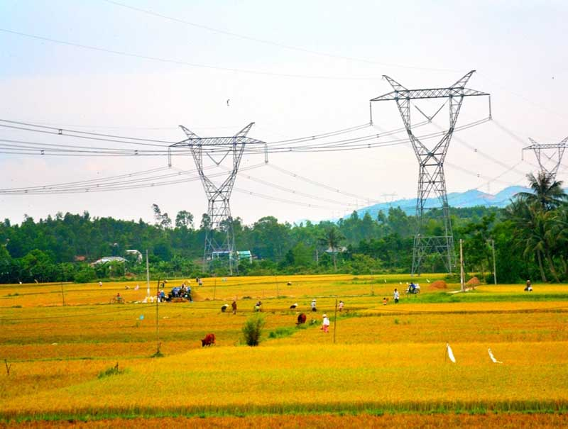 Construction of 110kV line Ayun Pa – Ea H'Leo