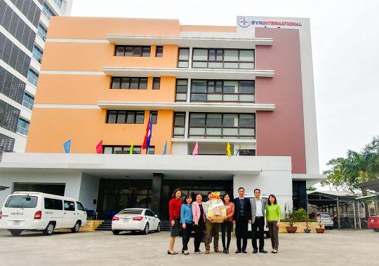 Công đoàn EVNGENCO1 chúc mừng EVNI đạt thành tích năm 2017