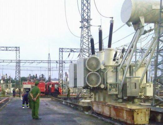 Hoàn thành đóng điện công trình