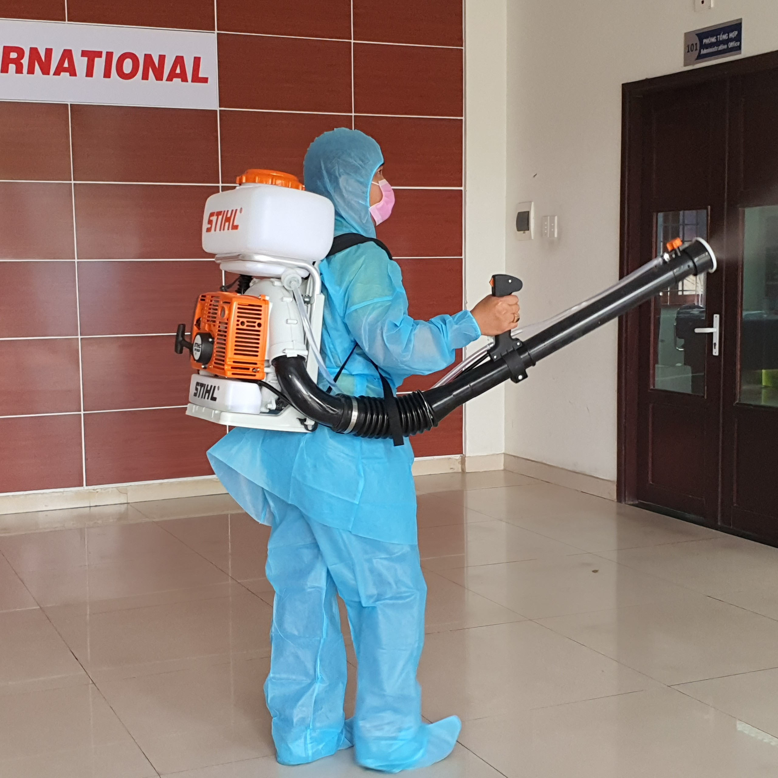 Công tác phòng chống dịch bệnh nCOV trong tình hình mới tại EVNI